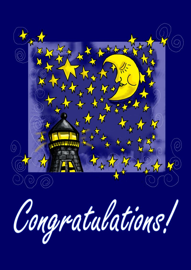 Moon congrats copy